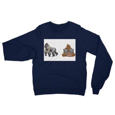Ape sh!! Unisex California Fleece Raglan Sweatshirt