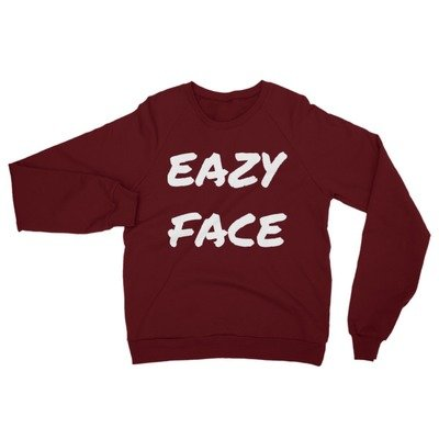 Eazyface Unisex California Fleece Raglan Sweatshirt