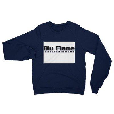 Blu Flame Unisex California Fleece Raglan Sweatshirt