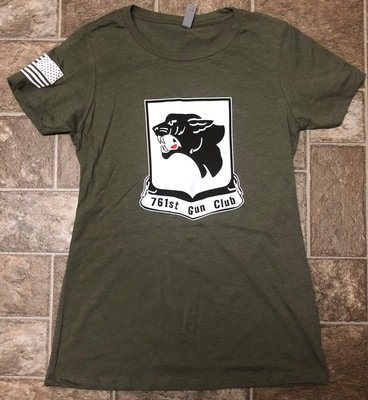 OD Green Gun Club Shirt Women