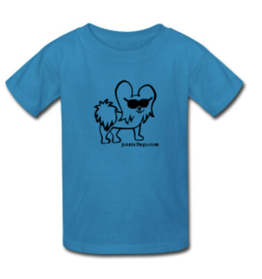 Teal MEDUIM Cartoon Kids T-Shirt