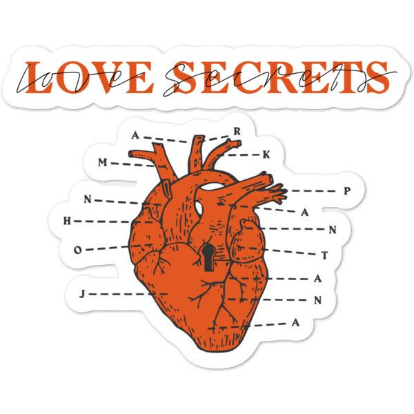 Love Secrets Sticker