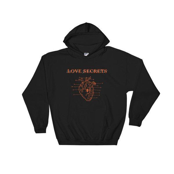Love Secrets Hooded Sweatshirt