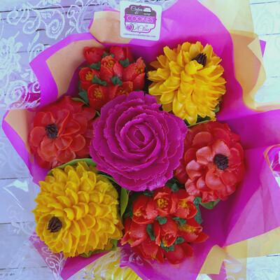 Custom Cupcake Bouquet