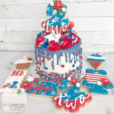 Cake & Cookies - Party Package - Any Occasion