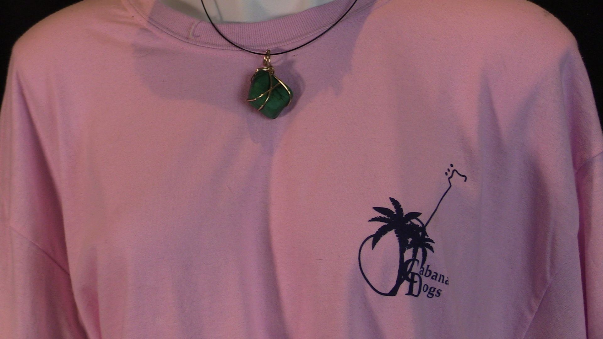Cabana Dogs Hand  Made Custom Necklace GSN 12
