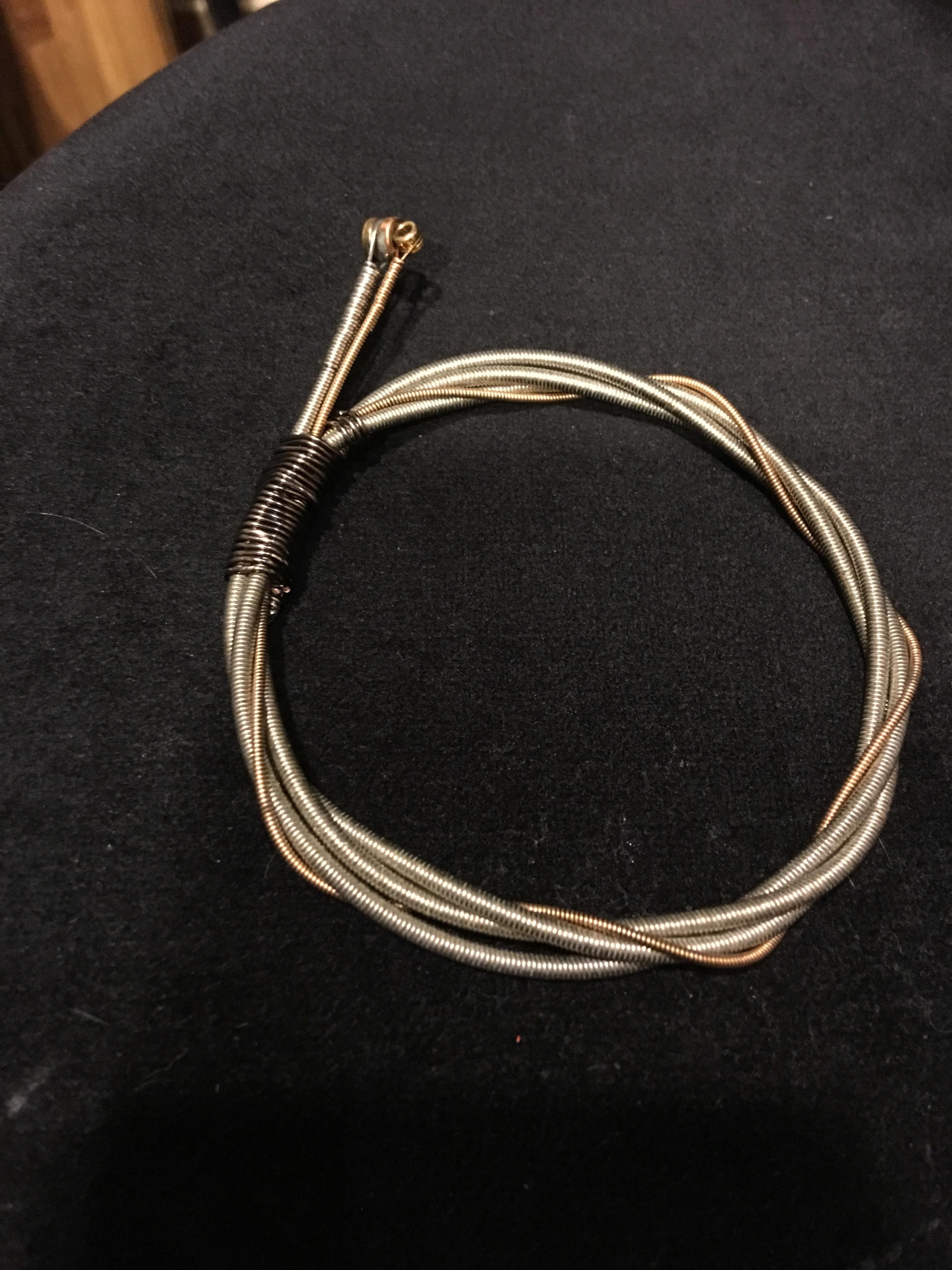 Guitar String bracelet GSBR 3