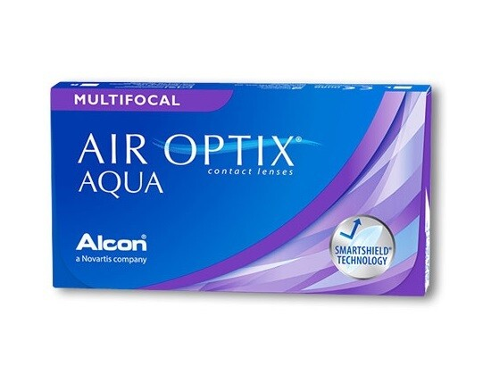 Alcon® AirOptix® Multifocal Monthly Replacement Multi-Focal Contact Lens 3 Pcs/Box 每月拋棄式高透氧漸進隱形眼鏡  每盒3片