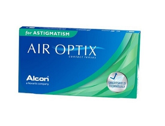 Alcon® AirOptix® for Astigmatism Monthly Replacement For Astigmatism 3Pcs/Box 每月拋棄式高透氧散光隱形眼鏡  每盒3片