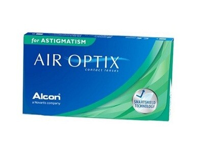 Alcon® AirOptix® for Astigmatism Monthly Replacement For Astigmatism 3Pcs/Box 每月​拋棄式高透​氧散光隱形眼鏡  每盒3片​