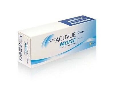 強生 1 Day ACUVUE® Moist with LACREON  每日拋棄式隱形眼鏡 每盒30片