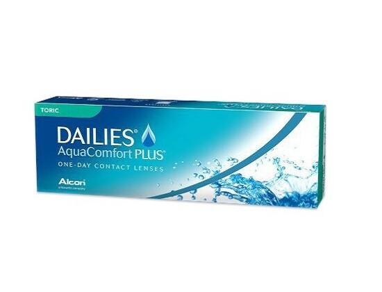 Alcon® Dailies AquaComfort Plus® for Astigmatism  Daily Disposable Lens 30 Pcs/Box 每日拋棄式散光隱形眼鏡每盒30片