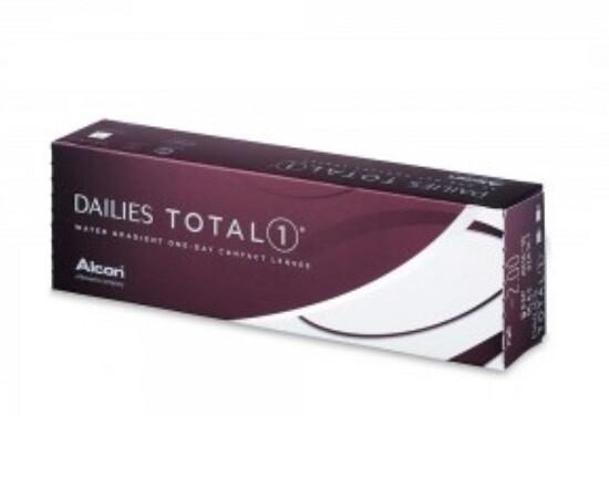 Alcon Dailies Total 1®  Contact lens 30pcs/Box 每日拋棄式高透氧隱形眼鏡 每盒30片