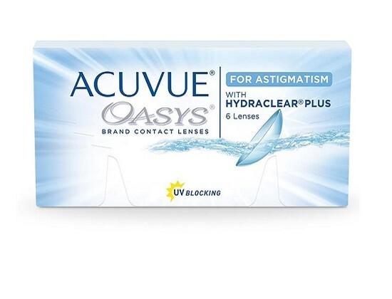 強生 ACUVUE® Oasys 2 Weeks for Astigmatism 6 Pcs/Box 每兩星期拋棄式散光高透氧隱形眼鏡 每盒6片