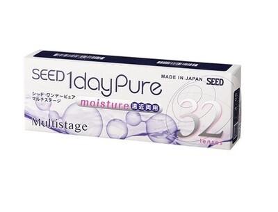 Seed 1 day Pure Multistage 32Pcs/Box 每日拋棄式漸進多焦點隱形眼鏡  每盒32片