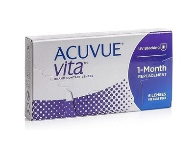 強生 ACUVUE® VITA Monthly Replacement Contact Lens 6 Pcs/Box 每月​拋棄式隱形眼鏡 每盒6片​