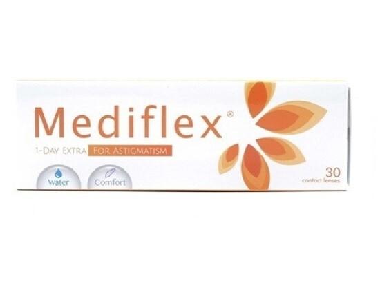 Mediflex 1 Day Extra For Astigmatism 30 Pcs/Box 每日拋棄式散光隱形眼鏡 每盒30片