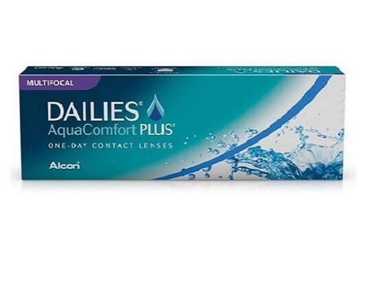 Alcon® Dailies AquaComfort Plus® Multifocal Daily Disposable Lens 30Pcs/Box 每日拋棄式漸進多焦點隱形眼鏡  每盒30片