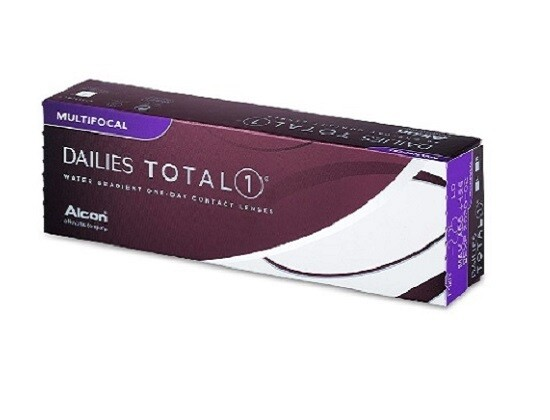 Alcon Dailies Total 1® Multifocal 30Pcs/Box 每日拋棄式高透氧漸進多焦點隱形眼鏡  每盒30片