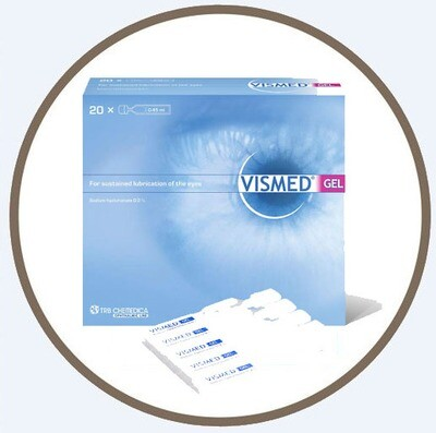 Vismed Gel 0.30% Single Dose Vials 20 x 0.45ml 潤眼液