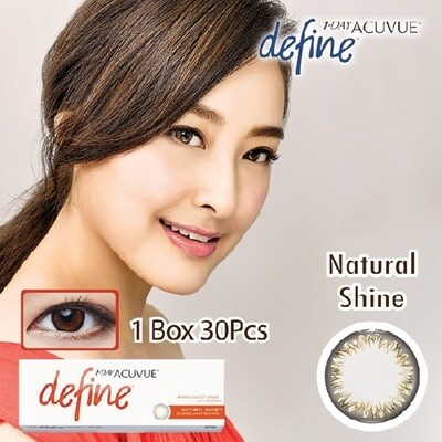 強生 1 Day Acuvue Define with LACREON® 每日拋棄式彩色美瞳隱形眼鏡 每盒30片