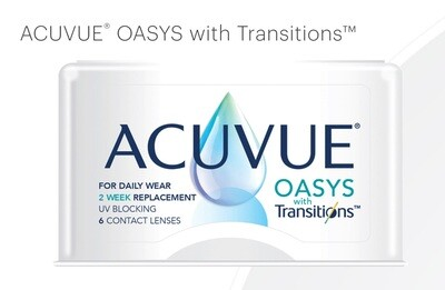 ACUVUE® OASYS with Transitions™ 2 week 6pcs/box