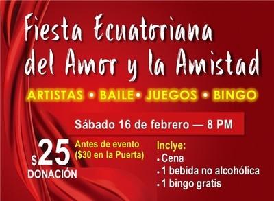 Fiesta Ecuatoriana del Amor y la Amistad