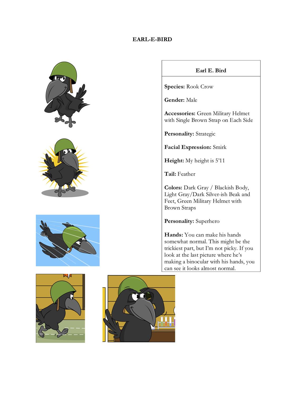 Earl E. Bird Fullsuit for Mario