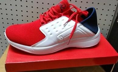 Red/Blue/White Relax Running Sneaker