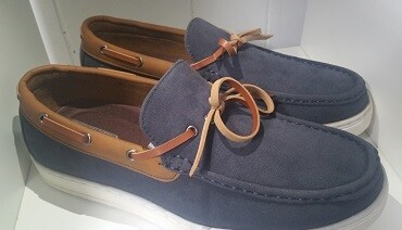 Men Timberland style blue Shoes