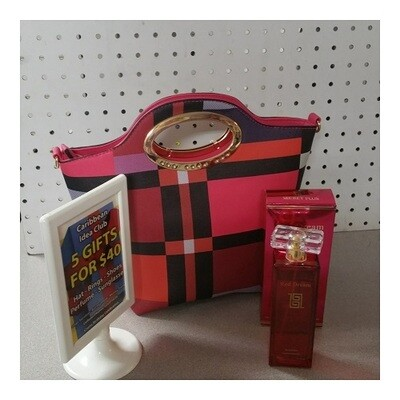Mix Color Ladies Handbag