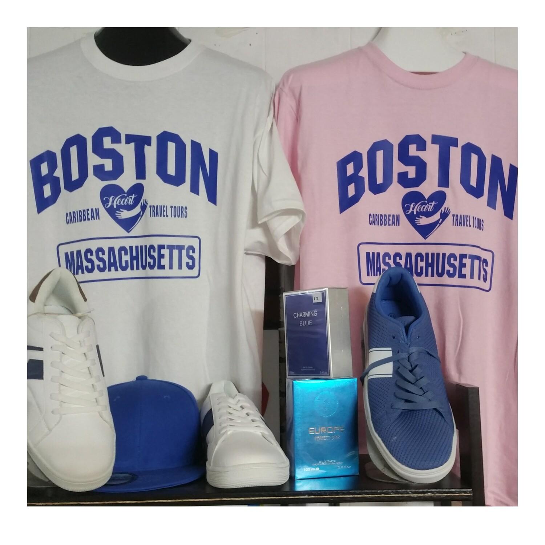 Designer Boston Men Clothe, Shoes Pack 2pc