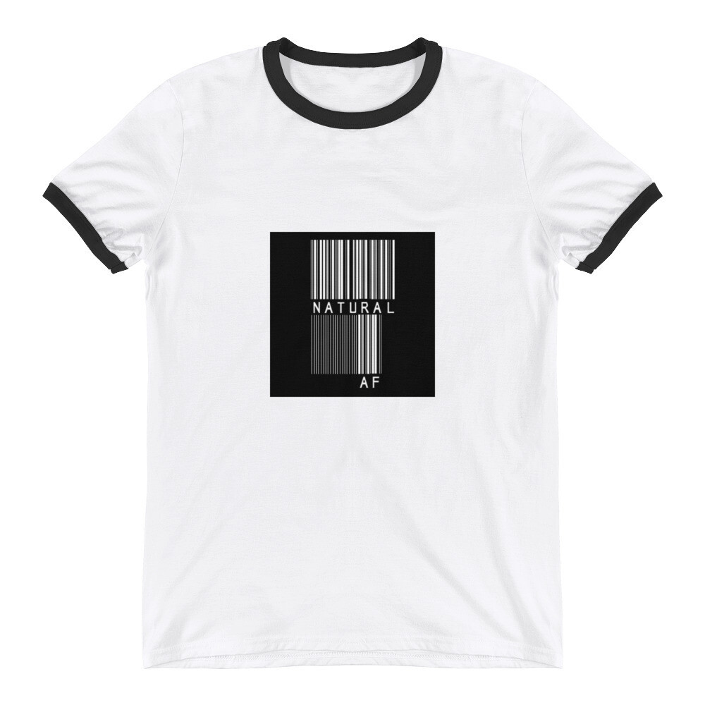 Ringer T-Shirt-bar code