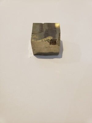Solid Pyrite Cube