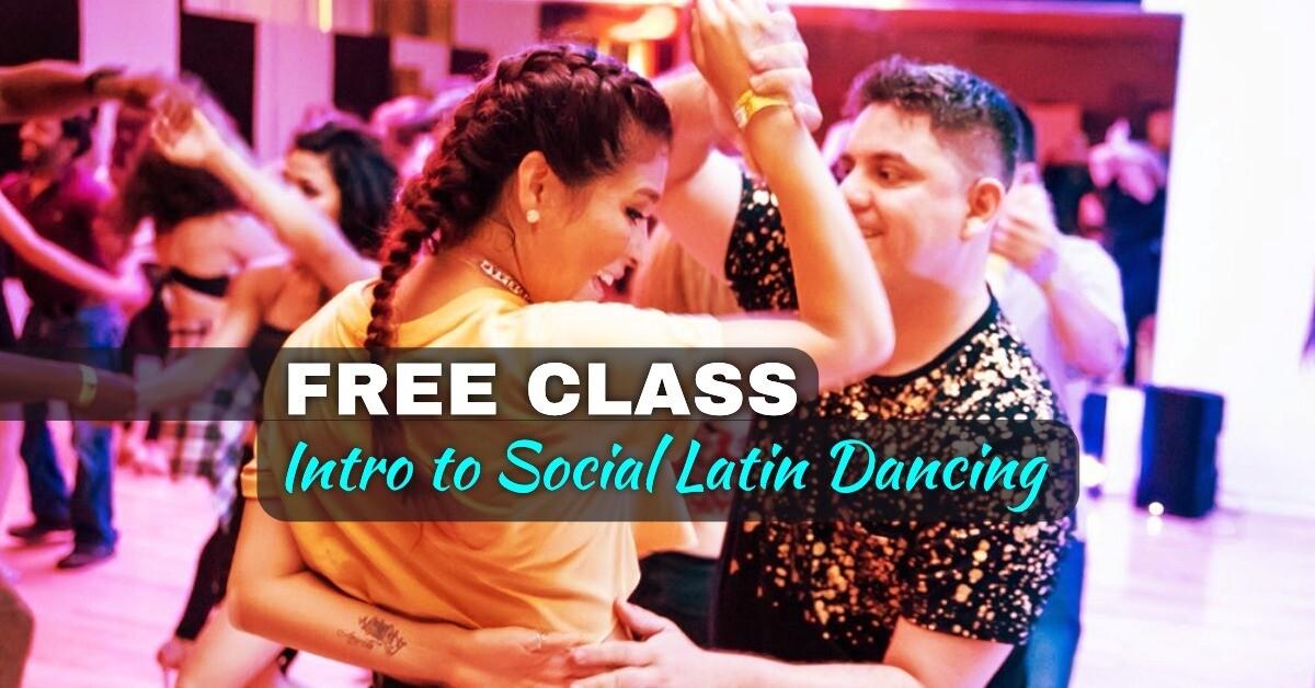 FREE Intro to Social Latin Dancing (May, 6th & 11th)
