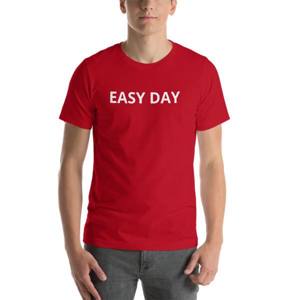 Rebel Body Fitness EASY DAY T-Shirt (Front & Back Design)