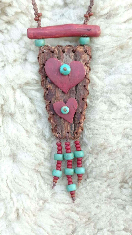 Folk Art Hearts
