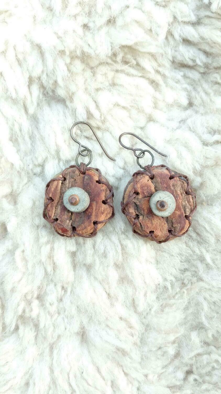 Willow Circle Earrings
