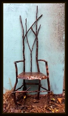 BUILD A MINIATURE RUSTIC CHAIR