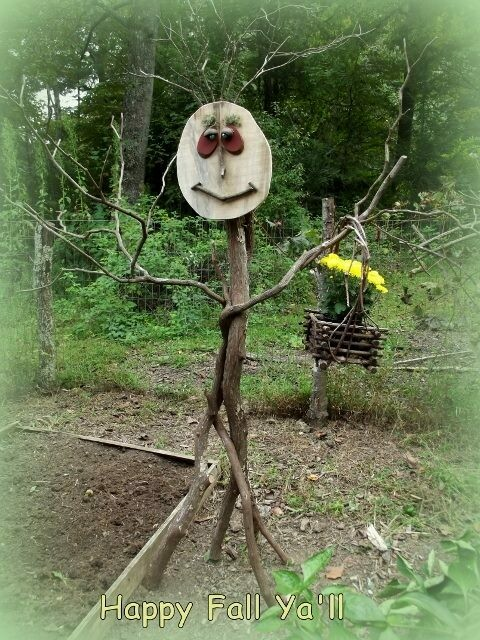 BUILD A TWIG SCARECROW