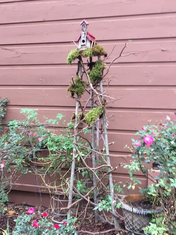Build a Garden Tower/ Bird House Stand
