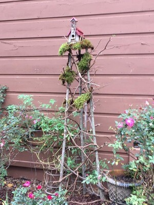 Build a Garden Tower/ Bird House Stand