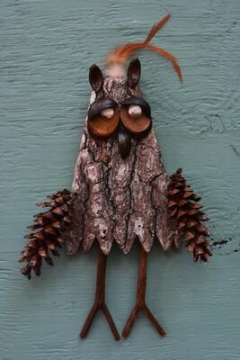 Make a Bark Owl~