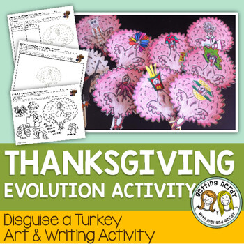 Adaptations Thanksgiving Activity for Evolution