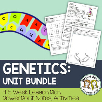 Genetics & Heredity - PowerPoint & Handouts Unit