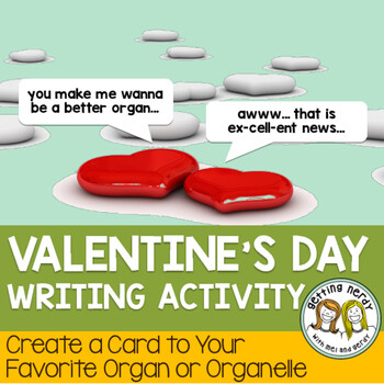 Valentines Day - Science Writing Activity