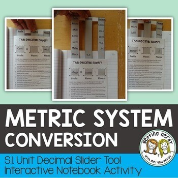 Science Interactive Notebook - Metric System Conversion