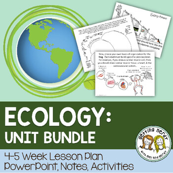 Ecology & Ecosystems - PowerPoint & Handouts Unit