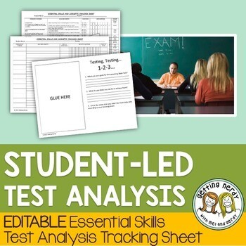 Test Analysis - Student Led Tracking Sheet