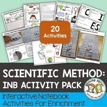 Science Interactive Notebook - Nature of Science & Scientific Method